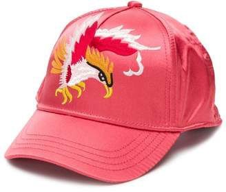 Diesel eagle embroidered cap
