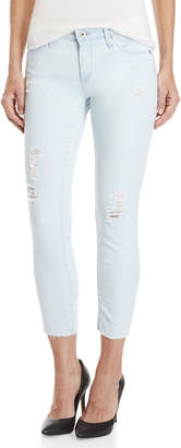 Adriano Goldschmied Ag By Stilt Cigarette Cropped Jeans