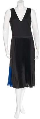 Timo Weiland Pleated Colorblock Dress w/ Tags