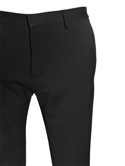 15cm Skinny Stretch Wool Cady Pants 5