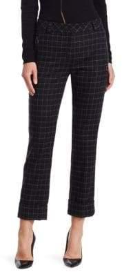 Akris Maxissima Check Pants