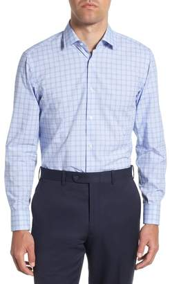 BOSS Marley Sharp Fit Plaid Dress Shirt