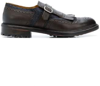 Doucal's buckled derby shoes