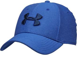 274ab2c98bf Under Armour Mens HG HeatGear Heathered Blitzing 3.0 Cap Blue