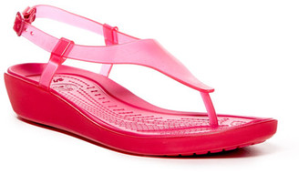 Crocs Really Sexi T-Strap Sandal (Women) $34.99 thestylecure.com