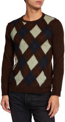 Valentino Men's Argyle Sweater