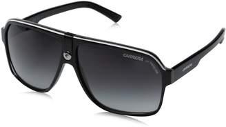 Carrera Ca33S Aviator Sunglasses, Black Frame, Grey Gradient Lens