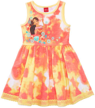 Disney (ディズニー) - Disney's Princess Elena of Avalor Tie-Dyed Dress, Toddler Girls