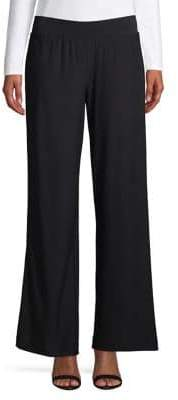 Halston H Stretch Wide-Leg Pants