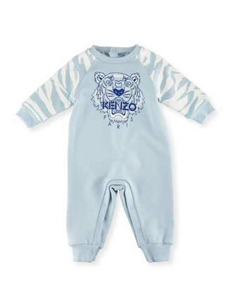 Kenzo Tiger One-Piece Lounger, Blue, Size 3-18 Months $118 thestylecure.com