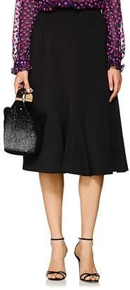 Barneys New York Women's Twill Flounce-Hem Skirt