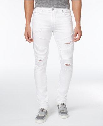 True Religion Men's Ripped Moto Rocco Jeans $299 thestylecure.com