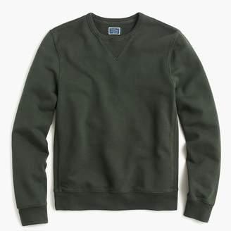 J.Crew Washed french terry crewneck sweatshirt