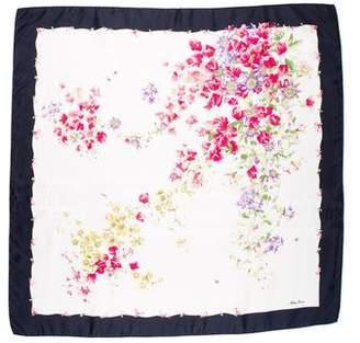 Nina Ricci Silk Printed Scarf