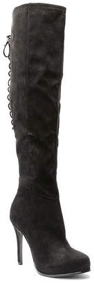 Two Lips 2 Lips Too Womens Lifted Over the Knee Boots Pull-on