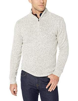 Chaps Men's Solid Fashion Long Sleeve Sweater