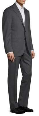 Corneliani Regular-Fit Solid Woven Wool Suit