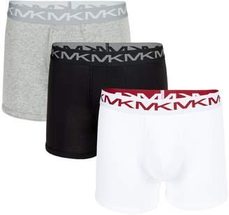 Michael Kors 3-Pack Performance Cotton Boxer Briefs