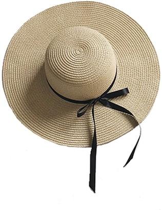 6112d4f3980 Goodnight Macaroon  Didi  Ribbon Rattan Hat (3 ...