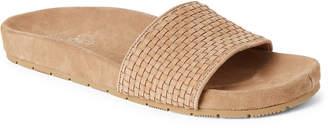 J/Slides Sand Naomie Woven Slide Sandals