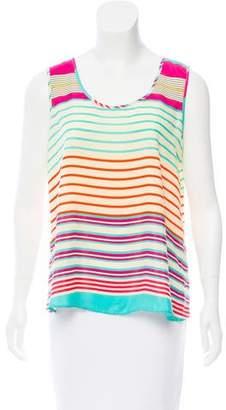 Needle & Thread Sleeveless Striped Shirt