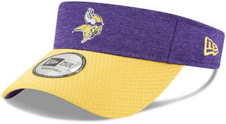New Era Minnesota Vikings On Field Sideline Visor