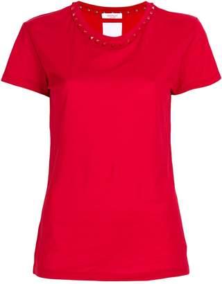 Valentino Rockstud trim T-shirt
