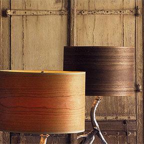 Roost Wood Veneer Table Lamp Shade