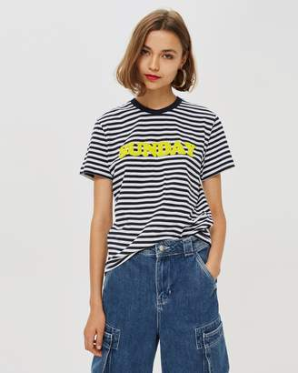 47358e1a526 Topshop Blue T Shirts For Women - ShopStyle Australia