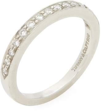Tiffany & Co. Women's Vintage Platinum & Diamond Band Ring