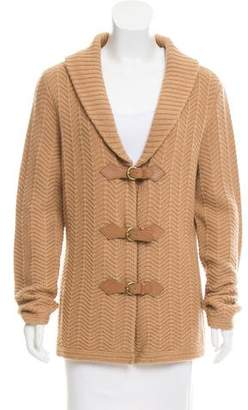 Rena Lange Shawl Collar Knit Cardigan