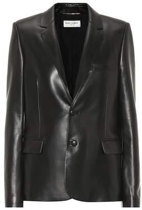 Saint Laurent Leather blazer