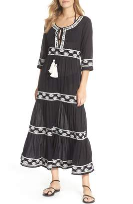 Muche et Muchette Embroidered Cover-Up Dress