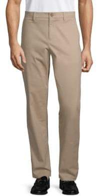 Saks Fifth Avenue Stretch-Cotton Chino Pants