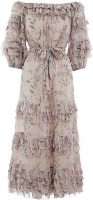 Zimmermann Unbridled Ruffle Dress