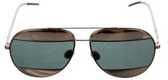 Christian Dior Reflective Aviator Sunglasses