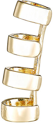 Jules Smith Women's Four-Band Ear Cuff $69 thestylecure.com