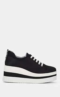 592574ff41f Miu Miu Women s Tech-Knit Platform Sneakers - Nero