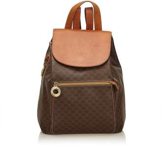 Celine Vintage Macadam Backpack