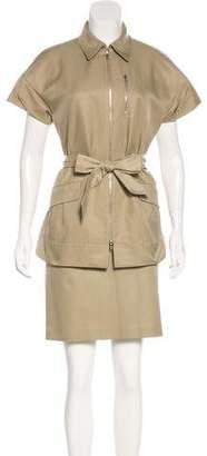 Lida Baday Short Sleeve Zip-Up Jacket
