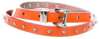 Michael Kors Studded Patent Belt