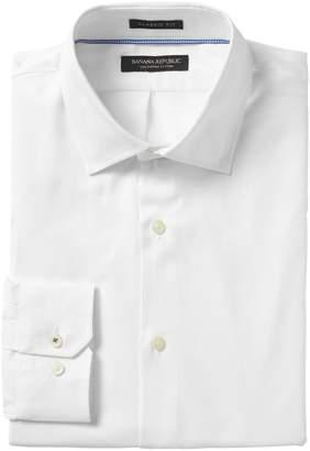 Banana Republic Classic-Fit SUPIMA Cotton Textured Shirt