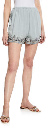 Tiffany & Co. Lost + Wander Embroidered Tassel Shorts