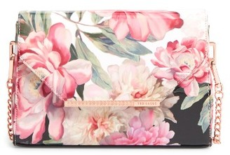 Ted Baker London Paiige Painted Posie Crossbody Bag - Pink $139 thestylecure.com