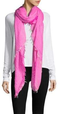 Agam Franco Ferrari Distressed Scarf