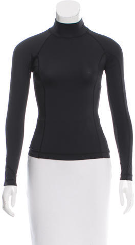 Alexander Wang T by Alexander Wang Fitted Long Sleeve Top w/ Tags