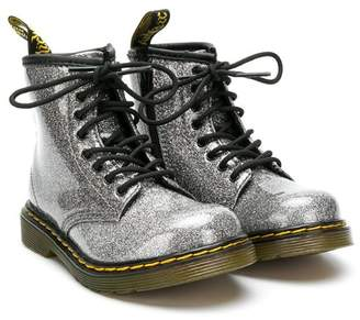 Dr. Martens Kids glitter ankle boots