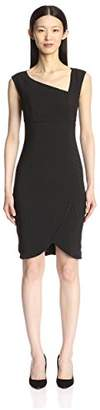 Society New York Women's Asymmetrical Neck Dress