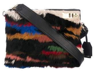 3.1 Phillip Lim Fur Racer Crossbody Bag