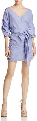 MLM Label Salo Wrap Dress - 100% Exclusive $187 thestylecure.com